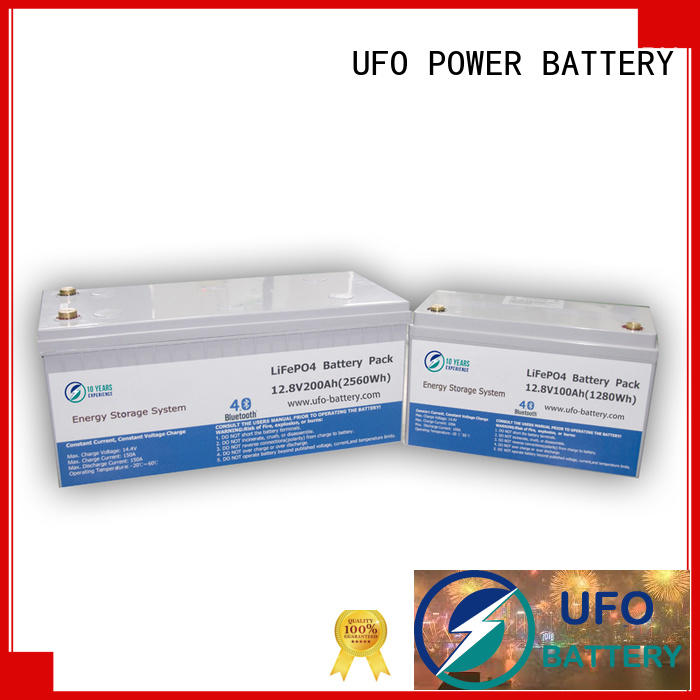 UFO lifepo4 12v lithium iron battery factory for solar system Gel battery replacement