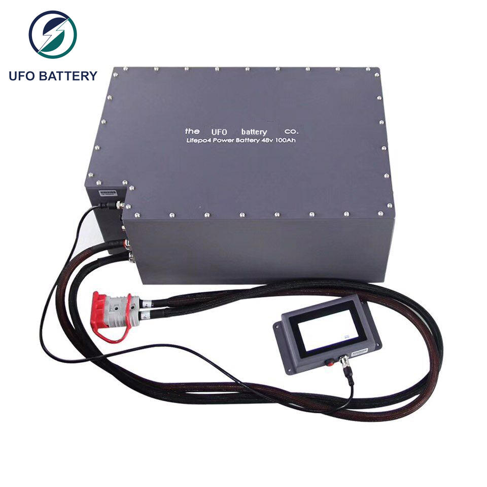 UFO 48v100ah motive battery supply for solar system telecommunication ups agv-3
